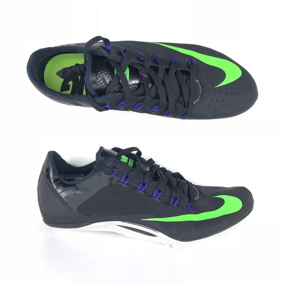 7f8a1cbc5631 Nike Zoom Superfly R4 Track Spikes Black Green Men